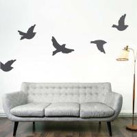 Flying Birds Wall Decals