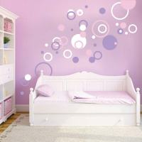 Dots and Rings Wall Art Designs | Trendy Wall Designs