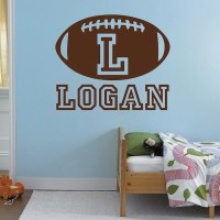 Football Wall Decal - sports vinyl wall decals stickers ...