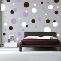 Polka Dots Wall Decals | Trendy Wall Designs
