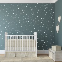 Bedroom Stars Wall Decals - Trendy Wall Designs