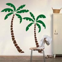 Palm Trees Wall Decal | Trendy Wall Designs