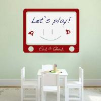 Etch and Sketch Dry Erase Wall Decal | Trendy Wall Designs