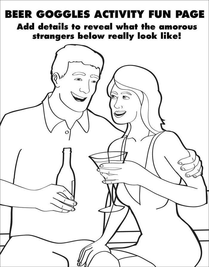 Hilarious and Clever Coloring Book Activities For Adults
