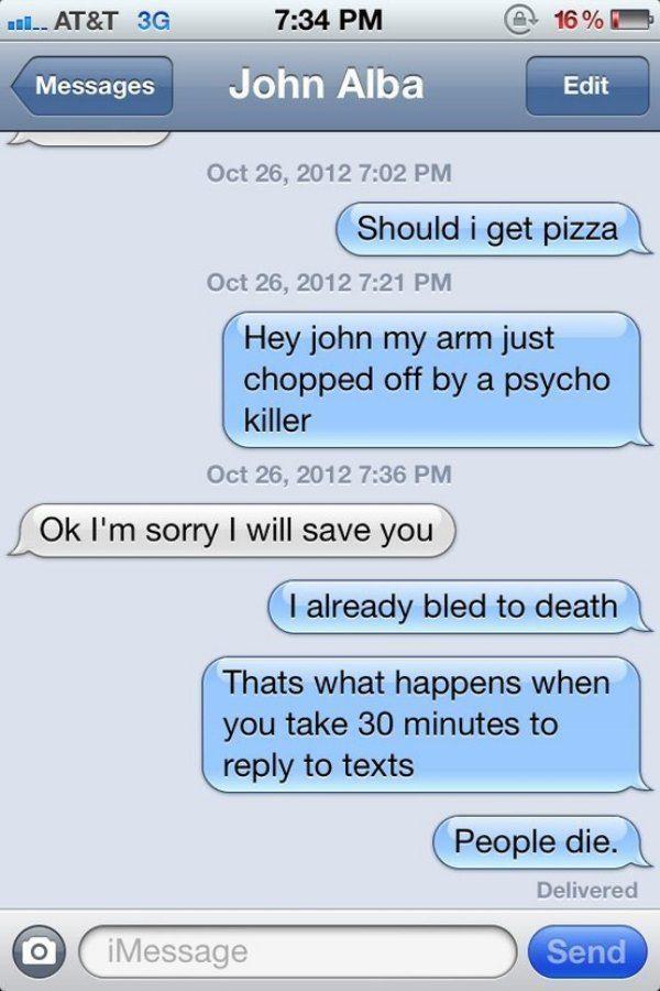 Funny Text Message Jokes