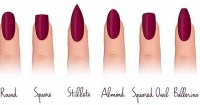 12 Different Nail Shapes Every Girl Should Know