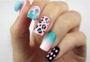15 cotton candy nail design