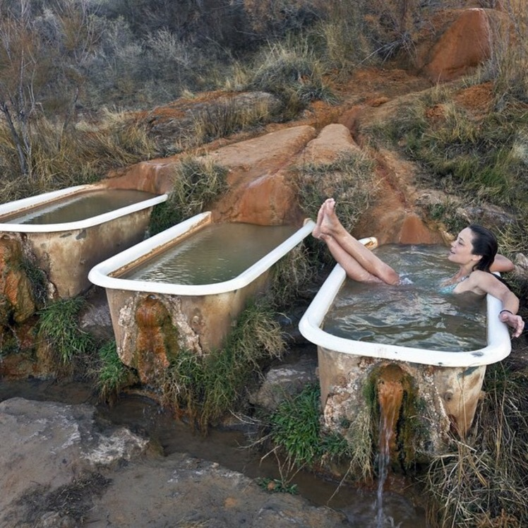 Little Known Hot Springs Are Found In This Beautiful Location