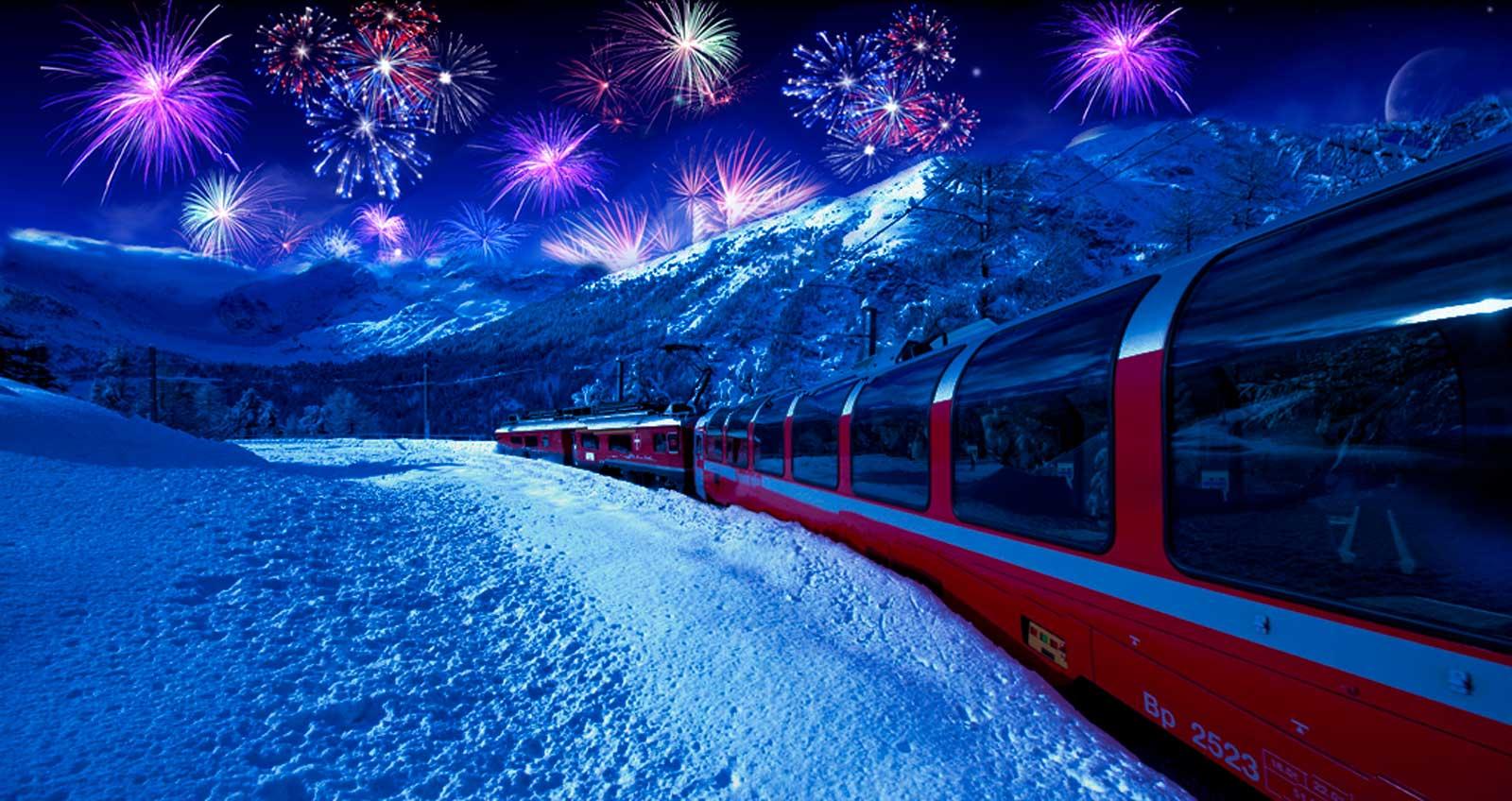 Capodanno Trenino del Bernina  Trenino del Bernina