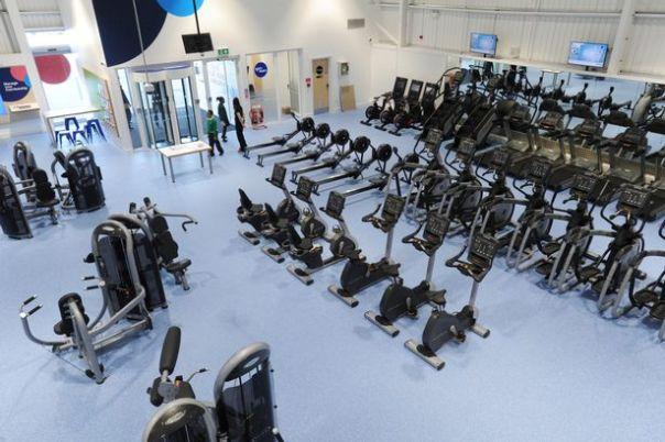 the gym vnitřek