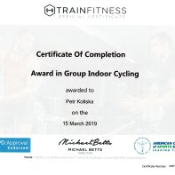 Group indoor cycling