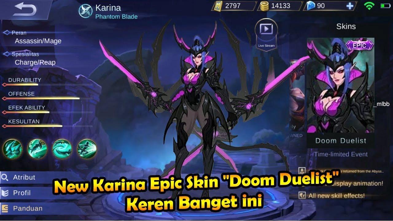 Doom Duelist Skin Mobile Legend
