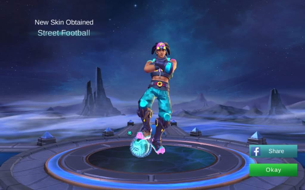 Street Football Skin Mobile Legend