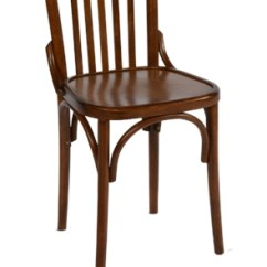 Cafe Chairs Wooden Patio Chair Cushions Cheap Stools For Coffee Shops Cafes Bistros Bc 9 Bentwood Slatback Side In Walnut
