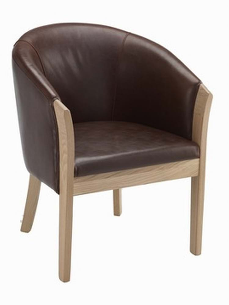 stylish affordable sofas uk comfortable cheap bordeaux brown leather tub chair with light oak legs