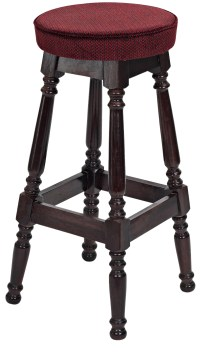 Tall Piped Top Colonial Stool & Pub Chairs By Trent Furniture