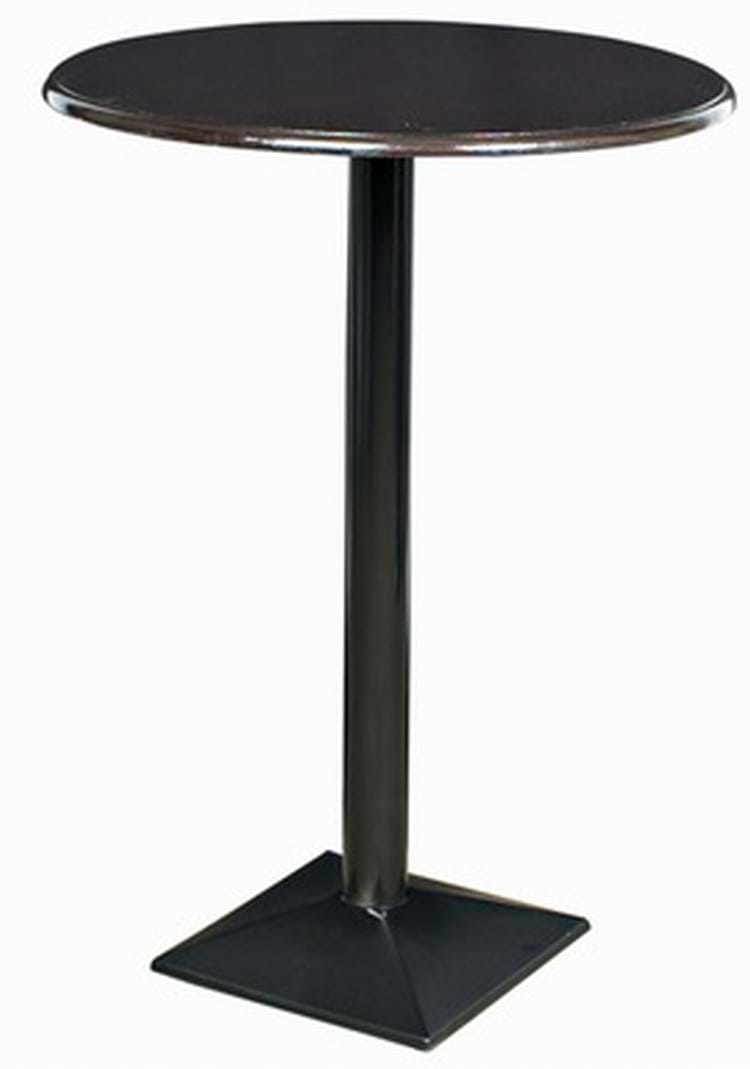 Black Pyramid Poseur Table Amp Bar Furniture By Trent Furniture