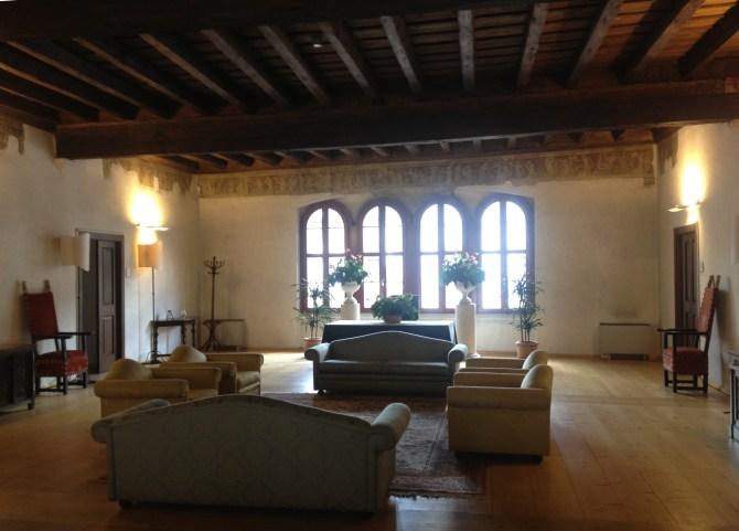 sala d'attesa di Palazzo Geremia