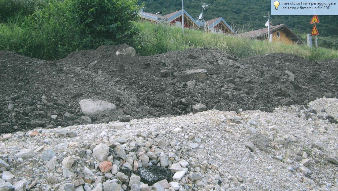 Assicuriamoci l'idoneità dei materiali in uso nei lavori in corso sulla S.P. 90
