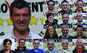 Candidati di lista M5S per elezioni comunali di Mori 2015
