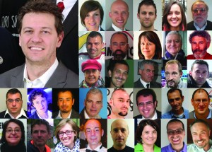 Candidati di lista M5S per elezioni comunali di Trento
