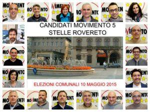 Risultati Voti di Preferenza Lista Elezioni Comunali Rovereto 2015
