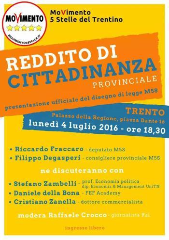 Reddito di Cittadinanza Trentino
