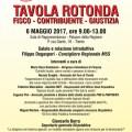 """Tavola Rotonda """"fisco, contribuente, giustizia"""" Trento, 6 maggio 2017"""