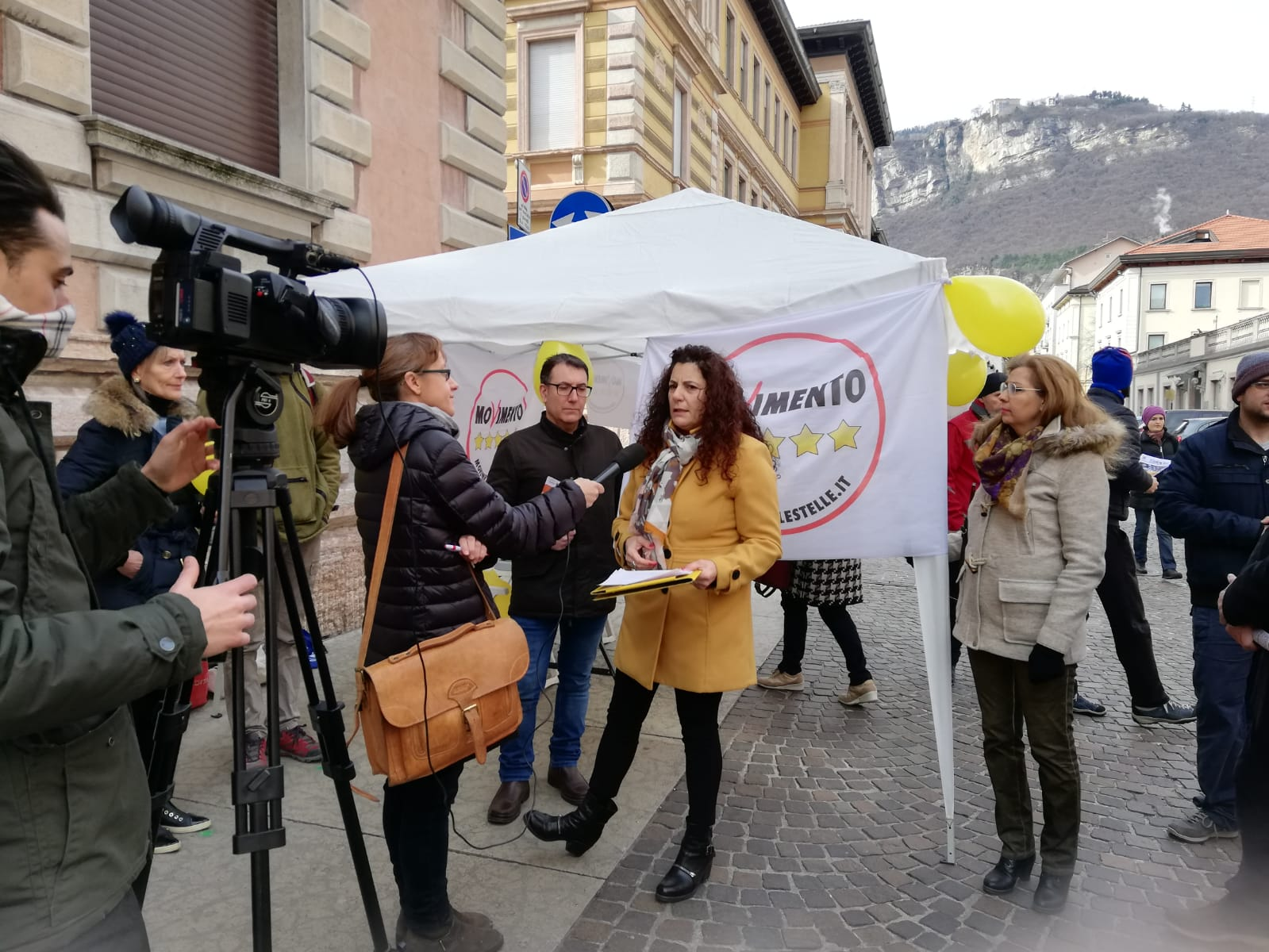 Presentazione della candidata sindaco per Trento: Carmen MARTINI