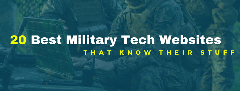 20 best military technology