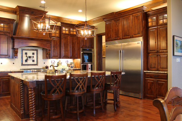 Texas Home Design and Home Decorating Idea Center Kitchen