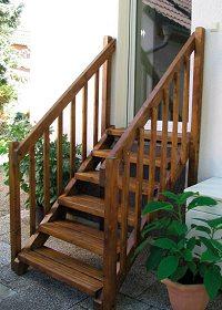 ausentreppe holz bauanleitung » terrassenholz, Moderne
