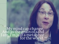 Linda Pransky – I´m just a metaphor for the world