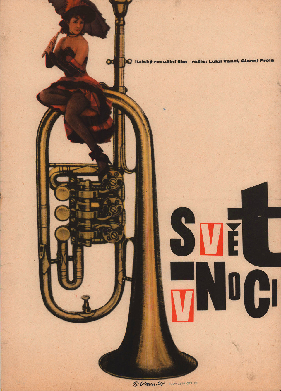 world-by-night-1964-original-czech-movie-poster