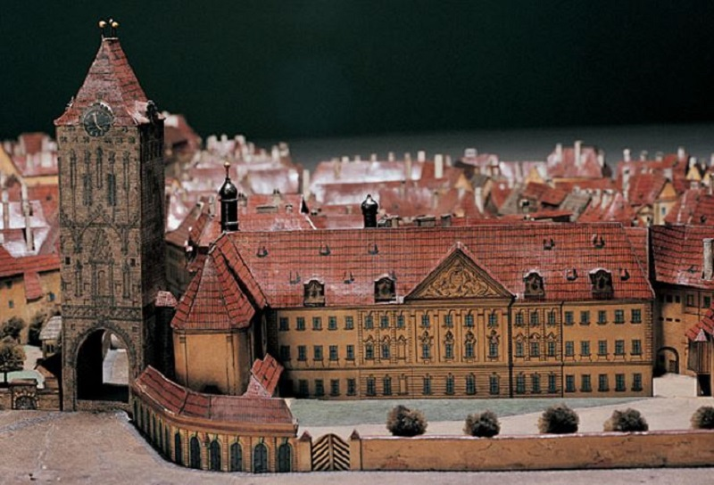 The Old Town. Powder Tower and the King's Courtyard. Photo: Miroslav Fokt.