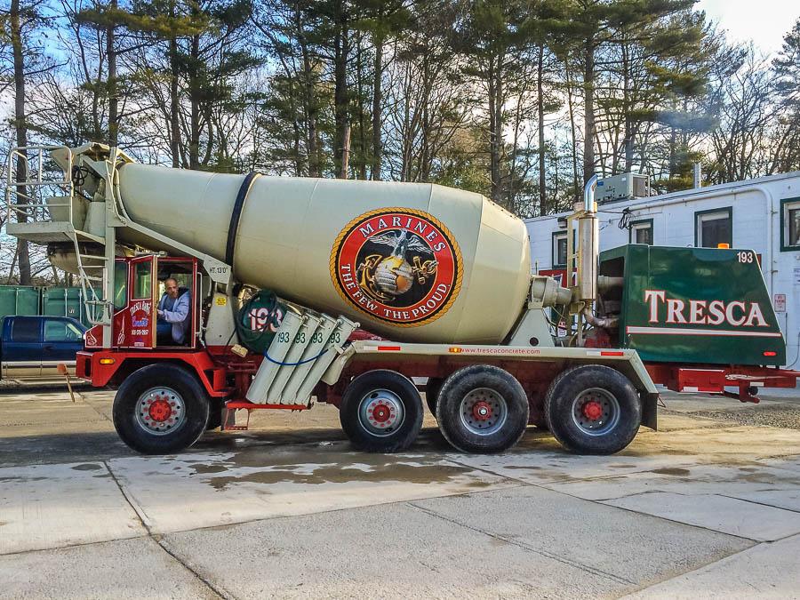 Boston Ready Mix Concrete - United States Marines