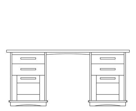 Treske Hardwood Writing Desks