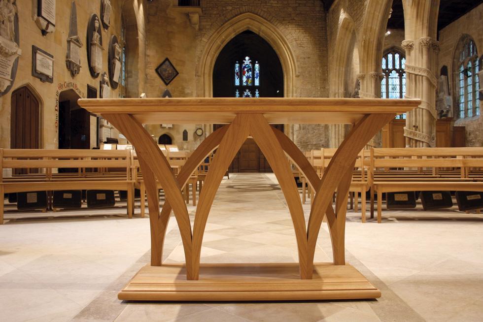 hand chairs outdoor wooden rocking canada holy trinity, bradford on avon : treske church furniture
