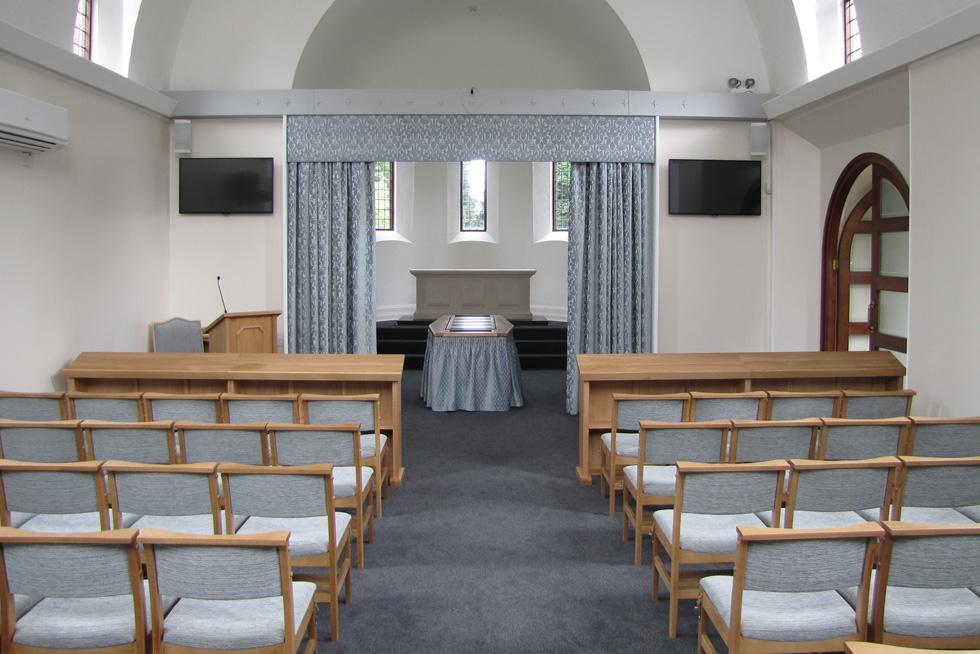 Hawkinge Crematorium  Treske Church Furniture