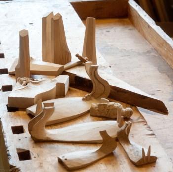 Modeller og prototyper fra prosjektet.