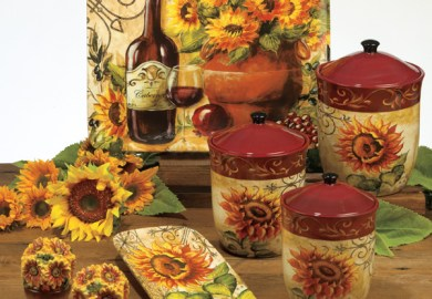 Sunflower Kitchen Accessories