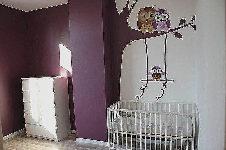 Decoration chambre bebe fille hibou  Ides de tricot gratuit