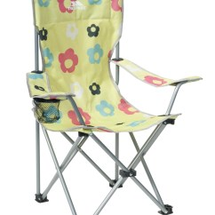 Folding Chair For Child Turquoise Side Trespass Joejoe Kids Garden Camping With