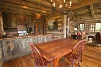Photo #11637 - Smooth Oak Flooring, Hewn Timbers, Gray ...