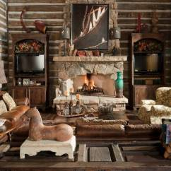 Lake House Living Room Photos Shelf Decorating Ideas Photo 16063 Texas Patio