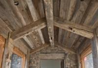 Photo #17052 - Gray Barnwood Ceiling