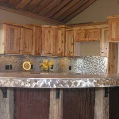 Yellow Pine Kitchen Cabinets Coffee Bar In Photo 4307 Southern
