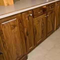 Walnut Kitchen Cabinets Epoxy Resin Countertops Photo 9286
