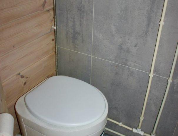 Elghytta toalett inne