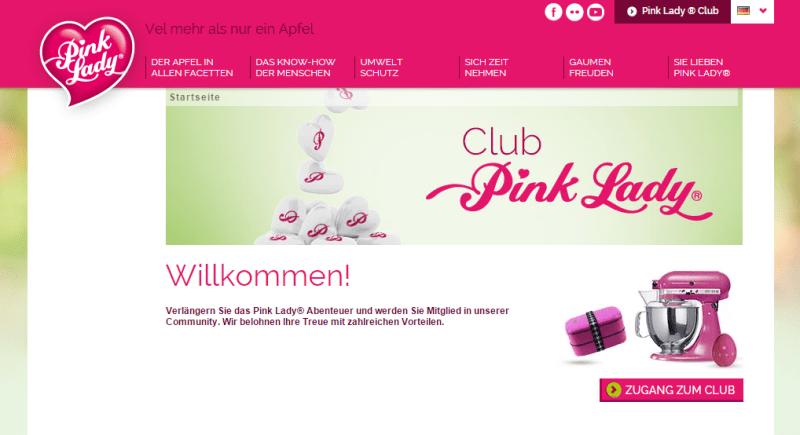 Pink Lady Treueprogramm